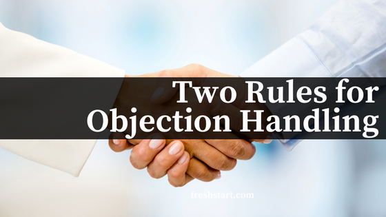 Getting a Handle on Objections