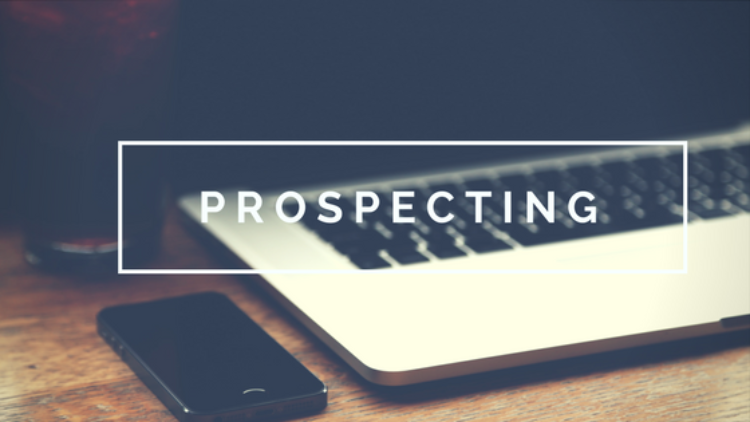 Prospecting + Consistency = Income