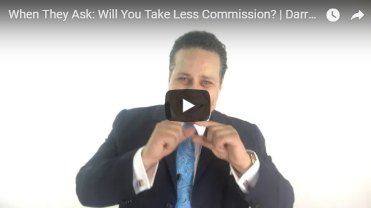Will YOU Cut Your Commission?