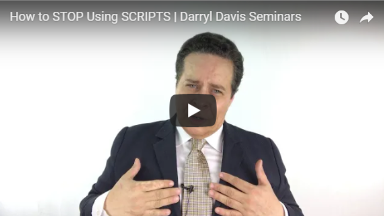 How to STOP Using Scripts (and START Taking More Listings)