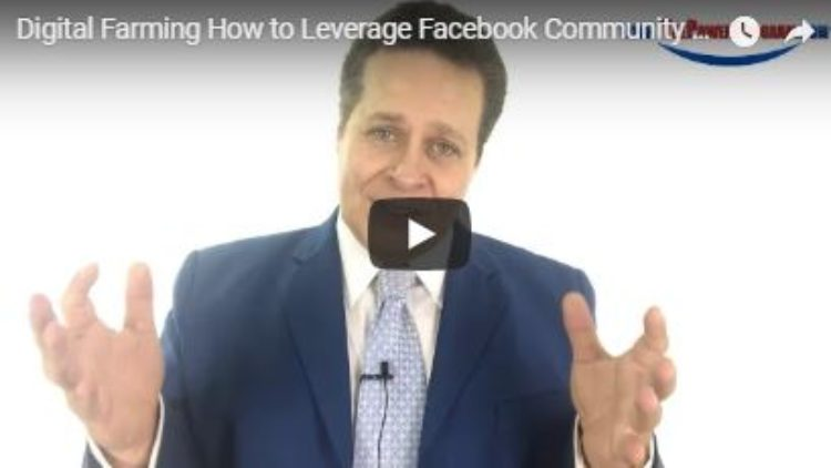 How to Digitally Farm Using Facebook Community Pages