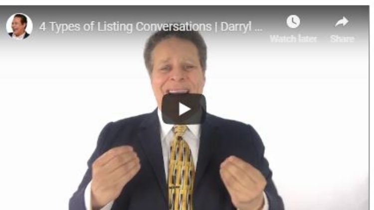 The Four Listing Conversations
