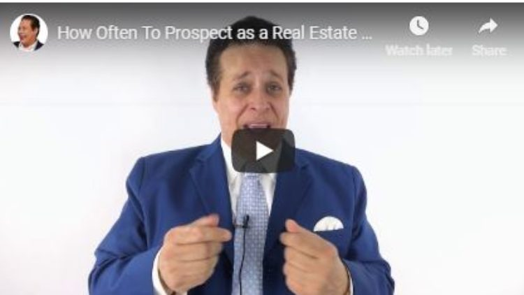 How Often Should You Prospect?