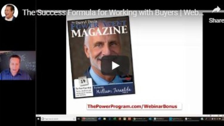Buyer Success Formula