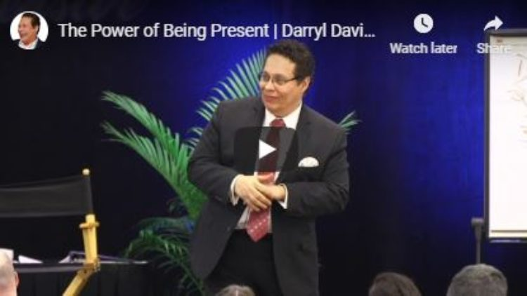 The Power of Being Present