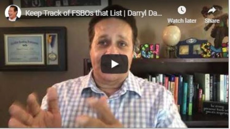 Keep Track of FSBOs That List