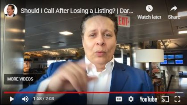 Calling a Lost Listing