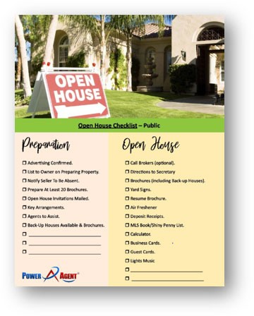 How and Why to Do a Neighborhood Open House