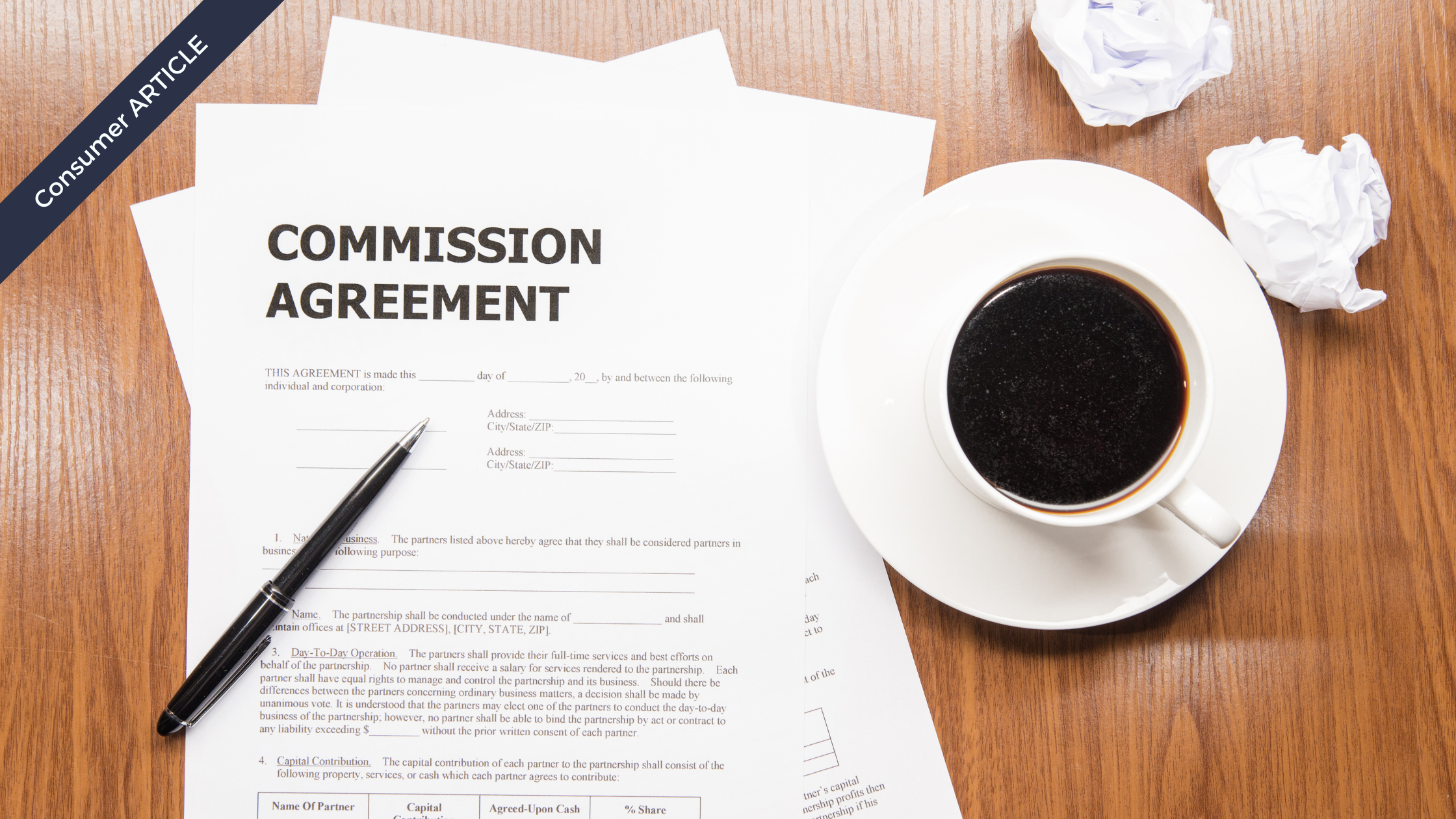 Consumer Article Real Estate Commission Breakdown